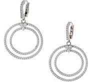 Judith Ripka Sterling 2.50 cttw Diamonique Earrings - J354880