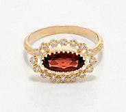 Adi Paz 14K Gold Gemstone Diamond Accent Ring - J360480