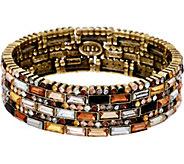 LOGO Links by Lori Goldstein Prismatic Stretch Bracelet - J348981