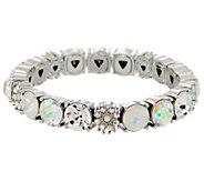 Kirks Folly Glitter Girl Stretch Bracelet - J352481