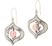 Or Paz Sterling Silver Cultured Pearl Dangle Earrings - J354981