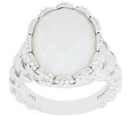 Tiffany Kay Studio Sterling Textured Gemstone Ring - J389281