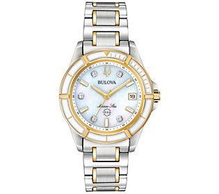 Bulova Women's Two-Tone Marine Star Watch