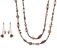 Linea by Louis DellOlio Venetian Necklace Set - J390581