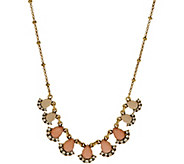 LOGO Links by Lori Goldstein Ombre Teardrop Necklace - J353782