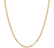 EternaGold 16 Brilliantina Chain Necklace, 14KGold, 1.4g - J383382
