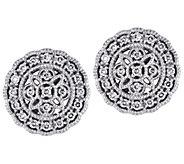 Affinity 14K 1/5 cttw Diamond Round Vintage Stud Earrings - J383682