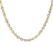 Italian Gold Polished Double Link 16 Chain, 14K 3.3g - J392582