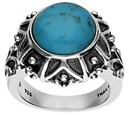 Elyse Ryan Sterling Silver Turquoise Ring - J385383