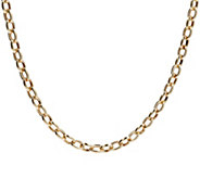 Eterna Gold 18 Polished Oval Rolo Link Necklace, 14K 10.2g - J386483
