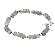 Novica Artisan Crafted Sterling and LabradoriteBracelet - J308184