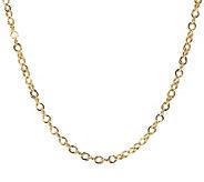 Italian Gold Polished Double Link 18 Chain, 14K 3.6g - J392584