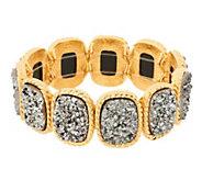 As Is Joan Rivers Look of Drusy Stretch Bracelet - J333085