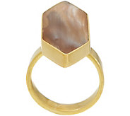 As Is Soko Trapezoid Horn Ring - J355785