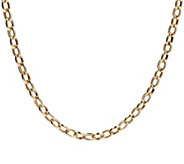 Eterna Gold 20 Polished Oval Rolo Link Necklace, 14K 11.2g - J386485