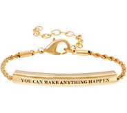As Is Stella Valle You Can Make Anything Happen Bracelet by Lori Greiner - J354586