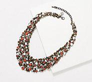 LOGO Links Lavish Pebble Bib Necklace - J358686