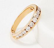 Affinity 14K Gold Channel Set Diamond Band Ring, 1.00 cttw - J361086