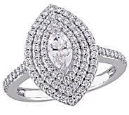 Marquise Diamond Ring, 14K, 9/10 cttw, by Affinity - J376586