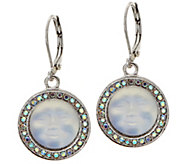 Kirks Folly Seaview Moon Leverback Earrings - J351487