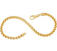 Italian Gold 8 Bold Round Box Chain, 14K 5.1g - J357287