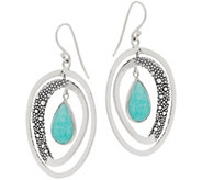 Michael Dawkins Sterling Silver & Gemstone Starry Night Earrings - J358487