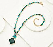 LOGO Links by Lori Goldstein Deco Pendant Necklace - J358687