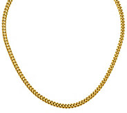 18 Franco Chain Necklace, 14K Gold, 20.1g - J384887