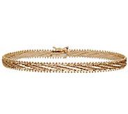 Imperial Gold 8 Mirror-Bar Bracelet 14K, 15.3g - J388987
