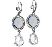 Kirks Folly Seaview Moon Tears Leverback Earrings - J351488