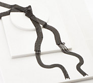 LOGO Links by Lori Goldstein Mesh Scarf Necklace - J358688