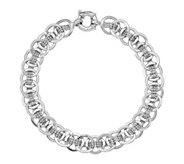 14K Gold Woven Link Bracelet, 8.2g - J381488