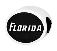 Sterling Silver University of Florida Bead - J300789
