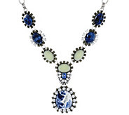 As Is Joan Rivers Gemstone 18-1/2 Pendant Necklace - J333289