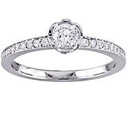 Laura Ashley 1/2 cttw Diamond Ring, 14K Gold - J345589