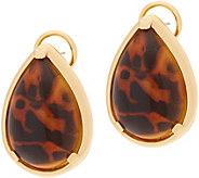 Heritage Jewelry Teardrop Resin Earrings - J357389