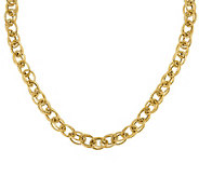 14K Gold Italian Gold Interlocking Cable Link Chain, 14.5g - J385489
