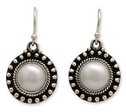 Novica Artisan Crafted Sterling Innocence Pearl Earrings - J311490