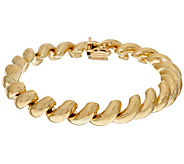 14K Gold 6-3/4 Polished San Marco Bracelet, 14.1g - J324290