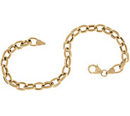 EternaGold 7-1/4 Rolo Link Bracelet, 14K 4.4g - J357490