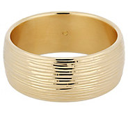 Oro Nuovo Average Textured Bold Bangle, 14K - J392390