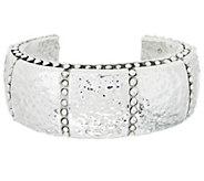 Simon Sebbag Sterling Silver Hammered Cuff Bracelet - J351091