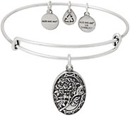 Alex and Ani Mom Charm Bangle - J351891