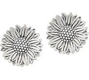 JAI Sterling Silver Olives Sunflower Earrings - J352991