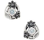 Or Paz Sterling Silver Gemstone Stud Earrings - J356591