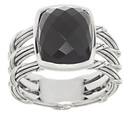 Peter Thomas Roth Sterling Silver & Black Chalcedony Ring - J356991