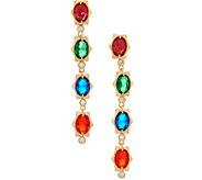 Heritage Jewelry Simulated Gemstone Linear Earrings - J357391