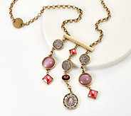 LOGO Links by Lori Goldstein Dreamcatcher Necklace - J358691
