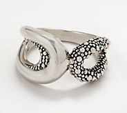 Michael Dawkins Sterling Silver Starry Night Open Ring - J361591