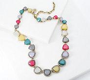 LOGO Links by Lori Goldstein Sunset Halo Necklace - J358692